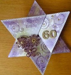 star fold card (I'm still trying to figure out where it originated - seems to be someplace in Europe)
