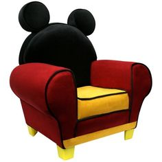 Charming Amazon.com: Disney Mickey Mouse Chair: Toys U0026 Games, Found On Polyvore