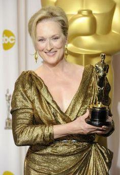 Meryl Streep 2011 Oscar