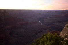 Sunset over the Grand Canyon   www.10mainstreet.fr