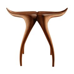 Víperus Side Table by Agrippa | Do Shop Finishing Materials, American Walnut, Organic Form, Reception Areas, Walnut Finish, Timeless Beauty, A Table, Solid Wood, Branding Design