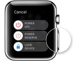 Use Power Reserve mode to save Apple watch battery