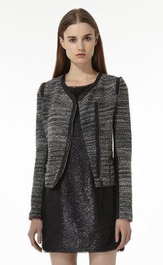 Boucle Jacket | Rebecca Taylor