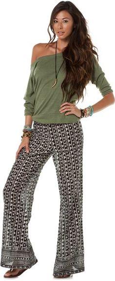 BILLABONG COSMIA BEACH PANT > Womens > Clothing > Pants | Swell.com...WANT!