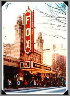 Fox Theatre Atlanta Georgia home sweet home.  I love this space! To name a few...phantom of opera, cats, grease, annie, legally blonde (Thx Mama:) and Thomas the Train