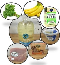We can find fruits, vegetables, pastries, meats, breads and dairy products at organic food stores.