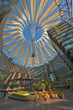 The Sony Center, Berlin september 2015                                                                                                                                                     More