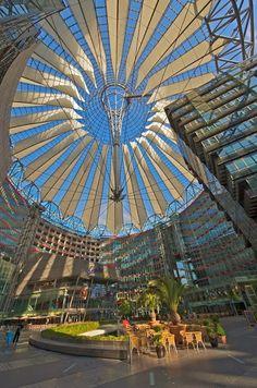 BERLIN: Sony Centre, Potsdamer Platz