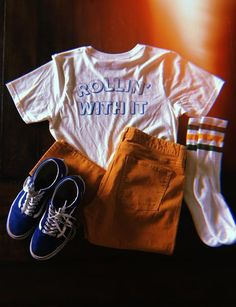 - Rollin' With It Tee - REDWOLF