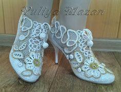 Irish crochet &: Юлия Мазан Julia Mazan