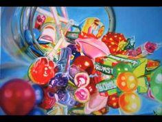 art, painting, photorealism, Sarah Graham, Sweet Mayhem