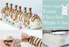 Triple Delight Easter Chocolate Ripple Cake