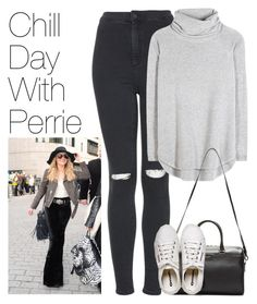 """Chill Day with Perrie"" by onedirectionimagineoutfits99 ❤ liked on Polyvore featuring Topshop, Chloé, Yves Saint Laurent and Henri Bendel"