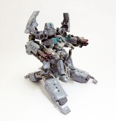 M.S.G. Gigantic Arms 01 Powered Guardian + HG 1/144 Adele - Custom Build     Modeled by UC Timeline