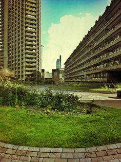 Barbican London brutalist architecture