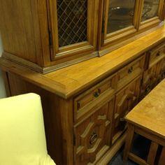 Elegant Breakfront Primitive Antiques, Bookcase, Dining Room, Cabinet, Elegant, Storage, Furniture, Home Decor, Dinner Room