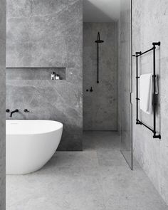 bathroom Ideas for a Minimalist Bathroom Design– Are you and your bathroom the right candidates for a sleek minimalist setting?Ideas for a Minimalist Bathroom Design– Are you and your bathroom the right candidates for a sleek minimalist setting? Hotel Bathroom Design, Modern Bathroom Design, Bathroom Renovations, Bath Design, Remodel Bathroom, Modern Design, Modern Luxury Bathroom, Bathroom Makeovers, House Renovations
