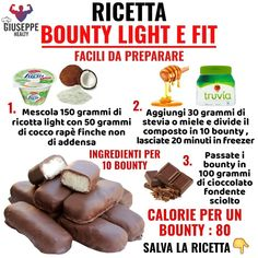 Conseils fitness en nutrition et en musculation. Low Calorie Recipes, Diabetic Recipes, Healthy Recipes, Easy Sweets, Healthy Sweets, Tips Fitness, Bakery Recipes, Mini Desserts, Light Recipes