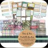 Sweetly Scrapped: Overlays, Calender Cards, Banners, Tickets and Jou.lots of freebies Paper Bag Scrapbook, Scrapbook Albums, Scrapbook Supplies, Scrapbook Cards, How To Make A Paper Bag, Digital Scrapbooking Freebies, Digital Papers, Printable Paper, Smash Book