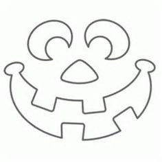 Halloween Jack-O-Lantern Template: You can do loads of fun ...