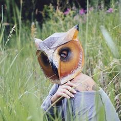 Owl Mask - Wintercroft  - 1