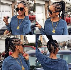 Loving this @hajia4reall - http://community.blackhairinformation.com/hairstyle-gallery/braids-twists/loving-this-hajia4reall/