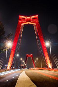 George Washington Bridge, Best Cities, Modern House Design, Rotterdam, Golden Gate Bridge, Netherlands, Skyline, History, World
