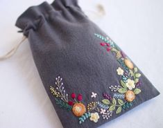 "2,104 Likes, 13 Comments - yula (@yula_handmade_2008) on Instagram: ""* . Embroidery pouch . .…"""
