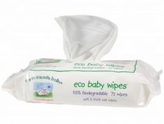 Eco baby cleansing wipes