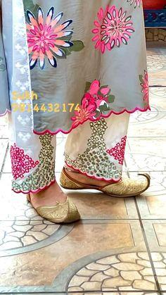 Dress Neck Designs, Stylish Dress Designs, Designs For Dresses, Punjabi Suits Designer Boutique, Indian Designer Suits, Embroidery Suits Punjabi, Embroidery Suits Design, Floral Embroidery Dress, Embroidery Flowers Pattern