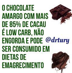 #chocolate #dieta #Lowcarb #cacau #emagrecimento #nutrição