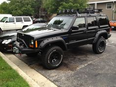 1990 Jeep Cherokee- haha it's a 98 dumb people a 90 wasnt usually a four door and it didn't come in the sports model❤️❤️