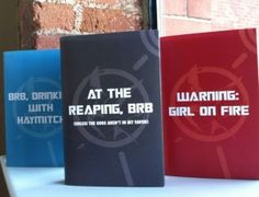 Free downloadable Hunger Games dust jackets!