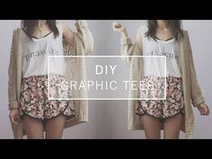 I recently filmed and uploaded a new DIY video on my youtube channel. I did a blog post on these Brandy Melville inspired graphic tees ove...
