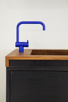 Blue Vola Faucet by Mjolk