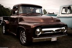 1956 Ford F100 by mark.mitchell.brown, via Flickr