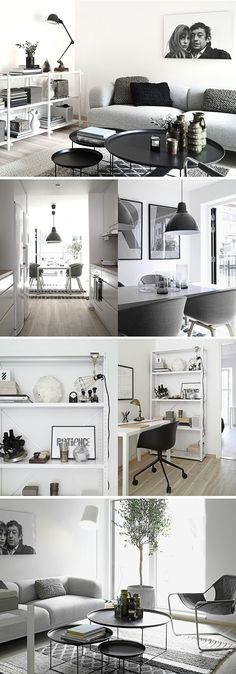 modern monochrome luxury