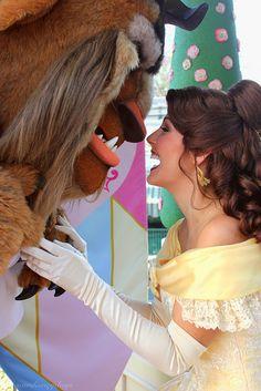 Belle and the Beast. True Love Week.