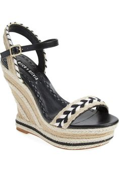 Pin for Later: The New Shoe of Summer Is a Throwback You Haven't Thought of in Years  Alice + Olivia Janaya Espadrille Wedge Sandal ($325)