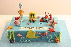 Sponge Bob cake !!