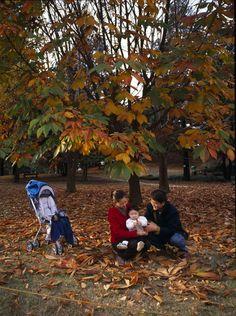 한 가정의 가을나들이