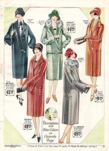 1920s coats womens