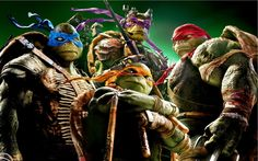Teenage Mutant Ninja Turtles TMNT 2014 Wallpaper | HD Movies Wallpaper