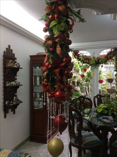 Christmas Kitchen, Christmas Home, Christmas Wreaths, Christmas Crafts, Christmas Tree Design, Elegant Christmas, Christmas Articles, Christmas Thoughts, Christmas Wonderland
