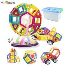 54.79$  Buy here - http://ali1mq.shopchina.info/go.php?t=32804801594 - New Kids Toy 92PCS/Lot Magnetic Blocks Learning Educational Magnetic Designer Set Construction Building Block for Children Gift 54.79$ #magazineonline