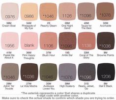 PERFECT EYESHADOWS from LimeLight by Alcone  Highly pigmented and last ALL DAY!!