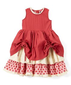 Take a look at this Ruby Mystic Evergreen Emmaline Dress - Infant, Toddler & Girls today!