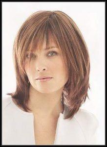 Frisuren Ab 50 Frauen Mittellang Schulterlange Haare