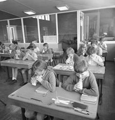 School Milk --   Photo from National Archives of Aust.