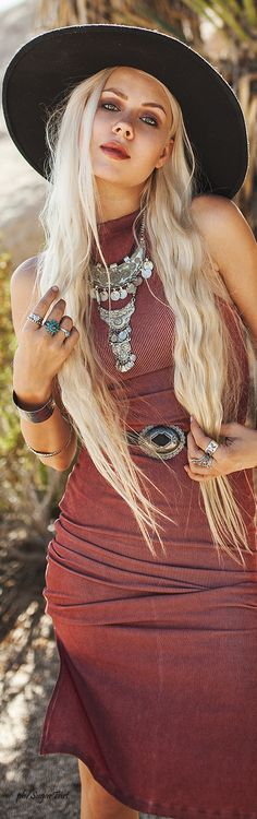 Bohemian Style, add some pieces to your collection today. Find your Inspiration @ #DapperNDame Pinterest. dapperanddame.com